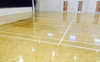 Sports flooring installation link
