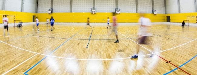 Sports flooring page header