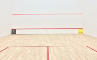 Squash court installation link image